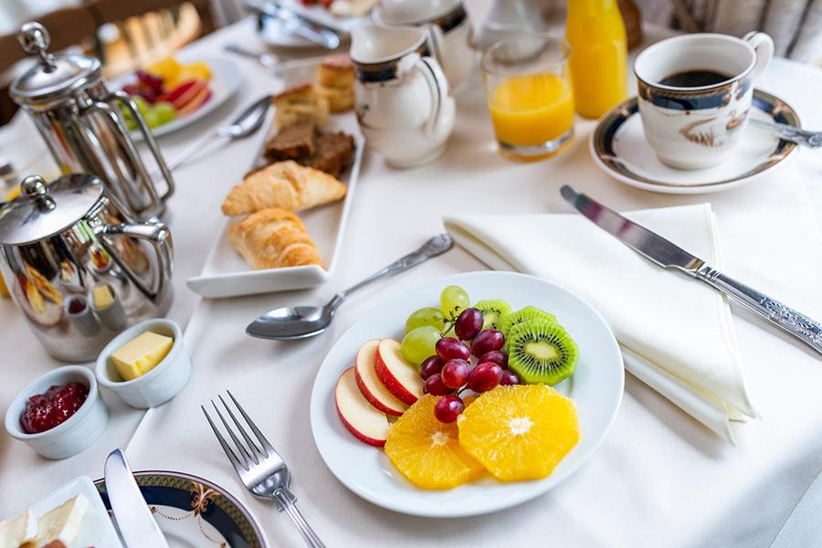 Friars Glen breakfast