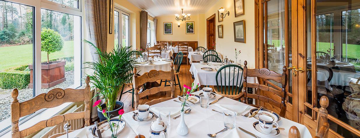 Friars Glen dining room