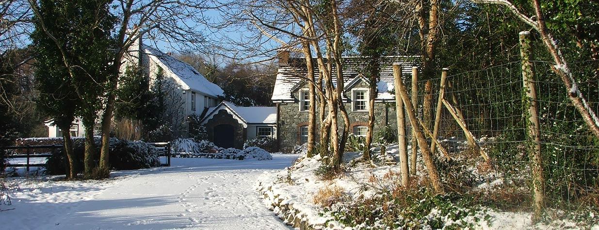 Friars Glen in snow